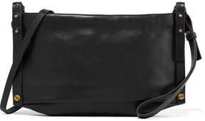 Isabel Marant Drissa Leather Shoulder Bag - Black