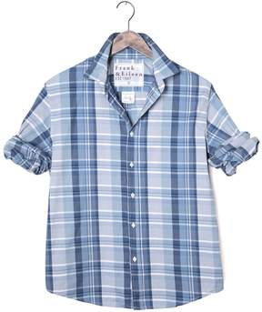Frank And Eileen Mens Paul Cotton Twill Plaid Button Down Shirt