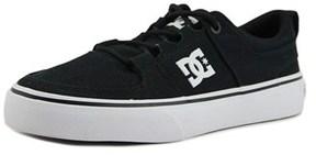 DC Lynx Vulc Tx Youth Round Toe Black Skate Shoe.