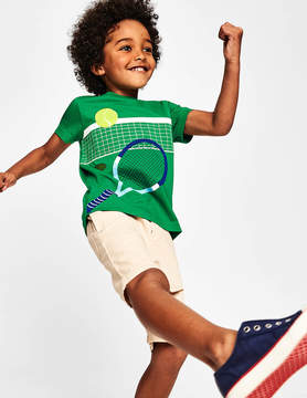 Boden Sports Applique T-shirt