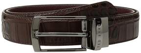 Ted Baker Sunflow Leather Reversible Belt Men's Belts