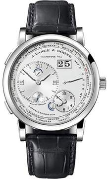 A. Lange & Söhne A. Lange and Sohne Lange 1 116.025 Platinum / Leather 41.9mm Mens Watch