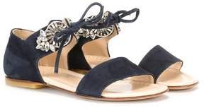 Ermanno Scervino lace-up sandals