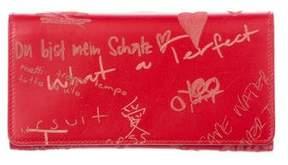 Balenciaga Blackout AJ Graffiti Wallet