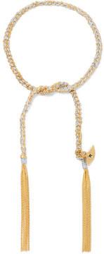 Carolina Bucci Lucky Protection 18-karat Gold Diamond Bracelet