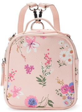 Candie's® Floral Mini Convertible Backpack
