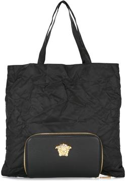 Versace Palazzo Medusa tote with detachable clutch