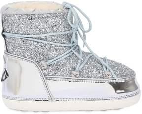 Chiara Ferragni 30mm Glitter Snow Boots