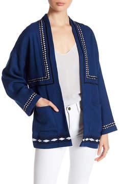 Dolce Vita Keegan Embroidered Knit Jacket