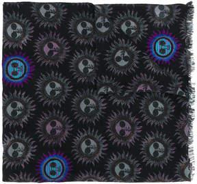 Paul Smith sun print scarf