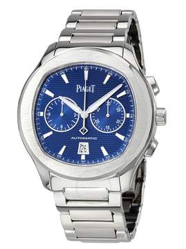 Piaget Polo S Automatic Chronograph Blue Dial Men's Watch