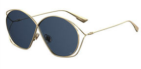 Christian Dior DiorStellaire 2 Round Cutout Sunglasses