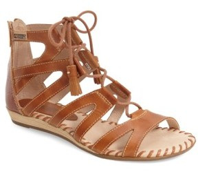 PIKOLINOS Women's 'Alcudia' Lace-Up Sandal