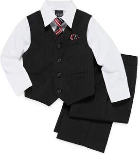 JCPenney TFW Striped 4-pc. Vest Set - Boys 4-10