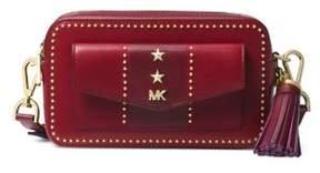 MICHAEL Michael Kors Studded Small Leather Camera Bag