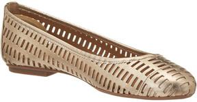 French Sole Quartz Leather Flat