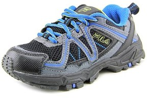 Fila Ascente 14 Youth Round Toe Synthetic Black Trail Running.