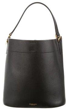 Michael Kors Miranda Medium Leather Shoulder Bag - BLUE - STYLE
