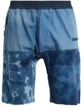 Longjourney Hangar tie-dye cotton shorts