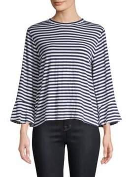 Clu Asymmetric Stripe Shirt
