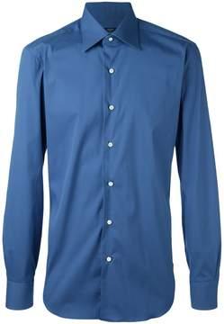 Barba slim-fit shirt