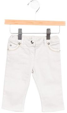 Christian Dior Girls' Straight-Leg Mid-Rise Jeans