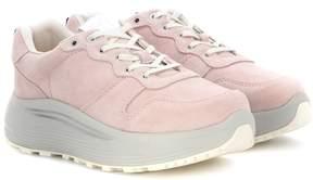 Eytys Jet Combo suede sneakers