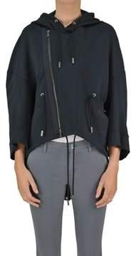 Diesel Black Gold Women's Black Cotton Jacket.