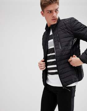 Esprit Real Down Puffer Jacket In Black