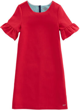 Vineyard Vines Girls Bell Sleeve Party Dress
