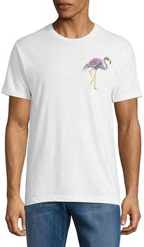 Riot Society Men's Ornate Flamingo Printed Tee