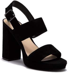 Fergie Fiana Block Heel Ankle Strap Sandal
