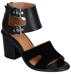 Corso Como Leather Ankle Strap Sandals