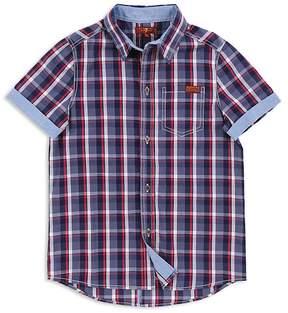 7 For All Mankind Boys' Button-Down Shirt - Little Kid, Big Kid