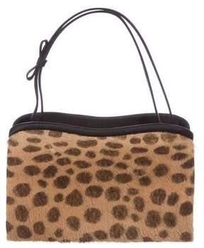 Judith Leiber Ponyhair Handle Bag