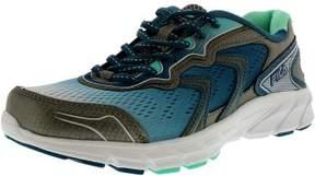 Fila Women's Stellaray Dark Silver/Fiery Coral/White Ankle-High Running Shoe - 7.5M