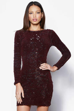 Dress the Population Long Sleeve Velvet Sequin Bodycon