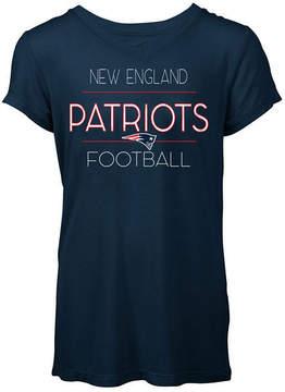 5th & Ocean Women's New England Patriots Rayon V T-Shirt