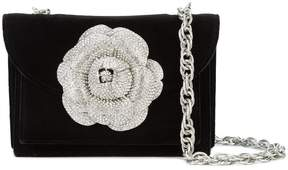 Oscar de la Renta Gardenia embellished cross body bag