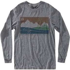 Hippy-Tree Hippy Tree Boundary Long-Sleeve T-Shirt