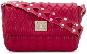 RED Valentino RED(V) heart-embossed shoulder bag
