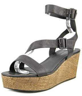 Elie Tahari Mustique Women Open Toe Leather Platform Sandal.