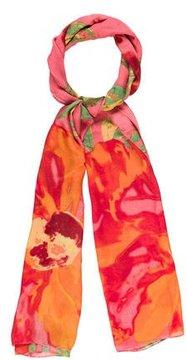 Cynthia Rowley Floral Printed Scarf