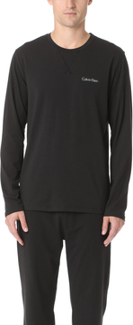 Calvin Klein Underwear Customized Stretch Long Sleeve Crew Neck Tee