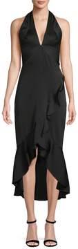 Shoshanna Women's Asymmetric Ruffle Dress