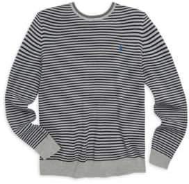 Ralph Lauren Toddler's, Little Boy's& Boy's Striped Cotton Sweater