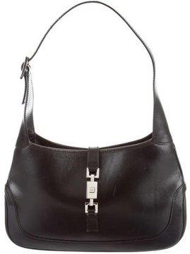 Gucci Leather Shoulder Bag - BLACK - STYLE