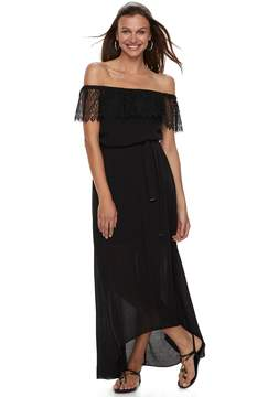 Apt. 9 Women's Off-the-Shoulder Lace Maxi Dress