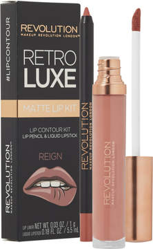 Makeup Revolution Retro Luxe Matte Lip Kit - Reign - Only at ULTA