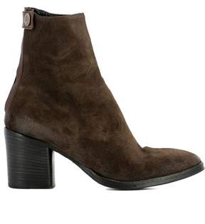 Alberto Fasciani Women's Brown Suede Ankle Boots.